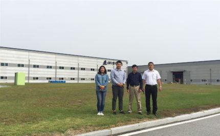 Banh lãnh đạo công ty Phim Ngôi Sao tham quan và làm việc tại nhà máy NDFOS Hàn Quốc