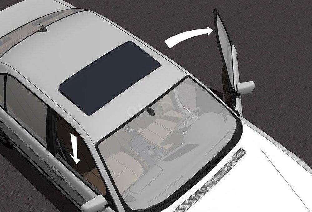 điều chỉnh vị trí cửa xe, chống nóng cho ô tô