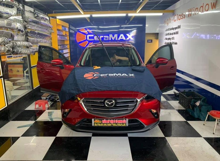Dán phim siêu cách nhiệt CeraMAX cho xe