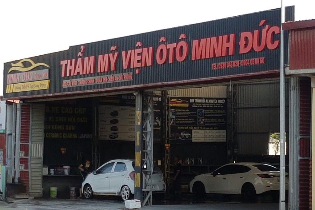 Minh Đức địa chỉ dán phim cách nhiệt uy tín