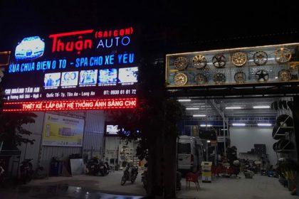 Thuận Auto dán phim cách nhiệt chuyên nghiệp tại Long An