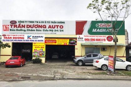 Trần Dương Auto – chuyên sửa chữa, bảo dưỡng, tân trang nội thất