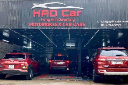 HAD Car địa chỉ dán phim cách nhiệt NTECH/ CeraMAX chính hãng