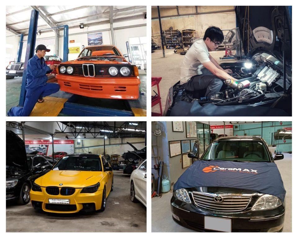 sửa chữa xe chuyên nghiệp